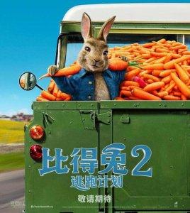 比得兔2推迟上映 由4月3日推迟至8月7日