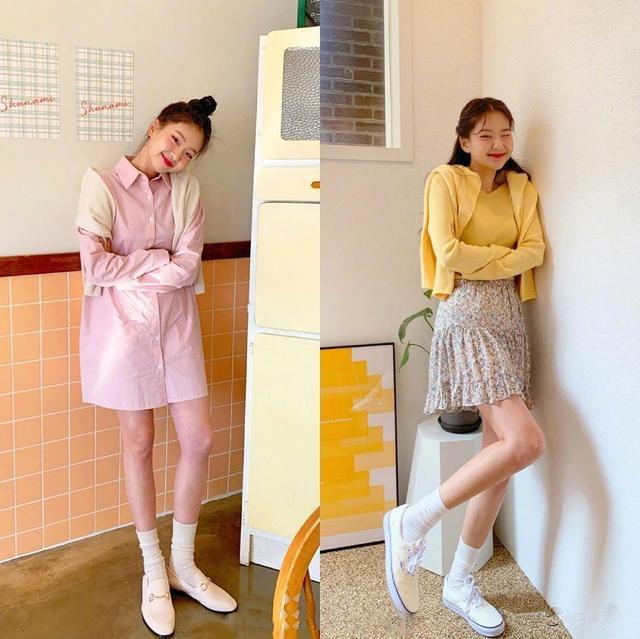 永保清纯是女人一生的事业减龄时尚服饰搭配图片