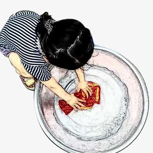 高猛酸钾水溶液洗衣服