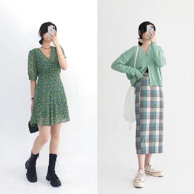 清新淡雅的风格穿搭也是夏日里常常遇见的清新淡雅穿搭图片