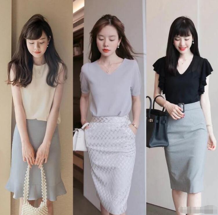 包臀裙是一款成熟女性都爱的单品包臀裙配什么上衣好看图片