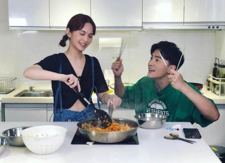 杨丞琳零经验下厨