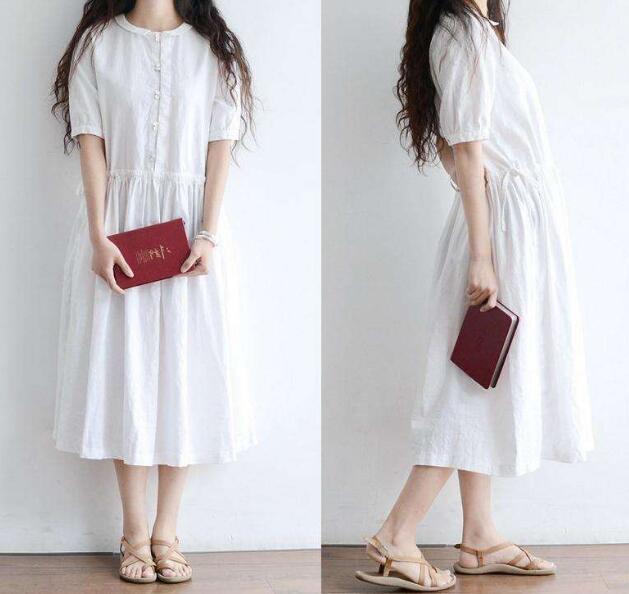 这个似乎没有一个绝对的标准夏天穿什么颜色连衣裙好看?