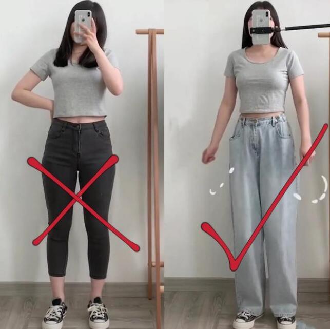由于现在社会发展迅速梨型身材穿什么衣服好看?