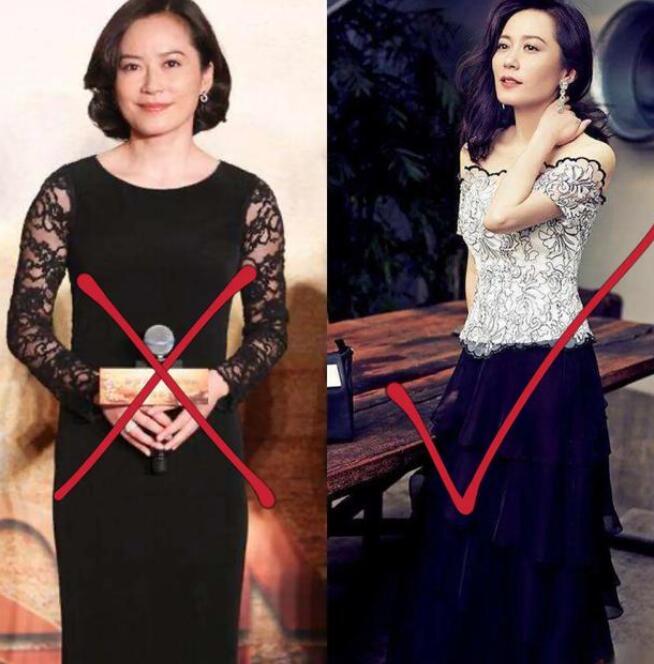 岁月蹉跎五十岁今年流行连衣裙?
