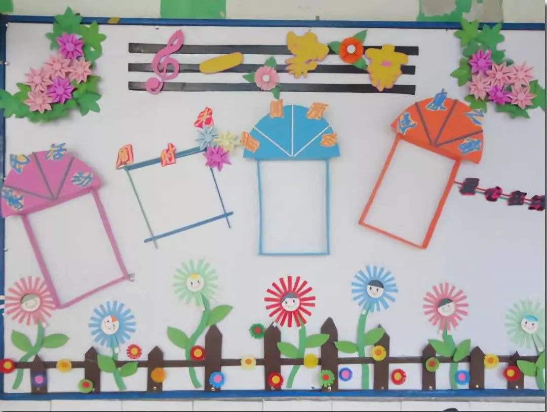 幼儿园作品栏创意名称