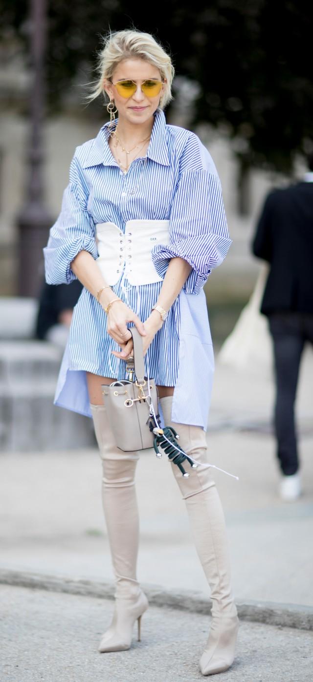 衬衣如何穿搭好看 女生穿衬衫好看又高级的四种穿法