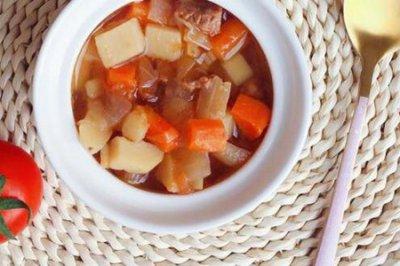 罗宋汤怎么烧才是最好吃的呢?罗宋汤的家庭做法材料
