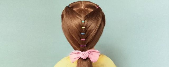 漂亮的长发扎头发方法