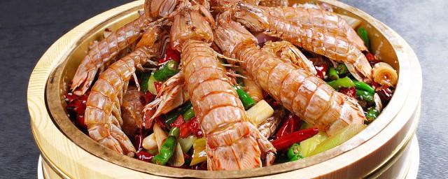 皮皮虾煮熟保存的方法