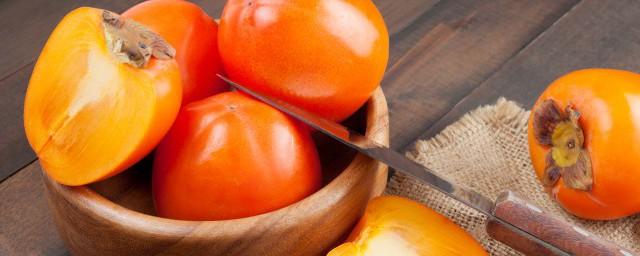 怎么储存柿子