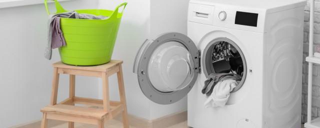 滚筒式洗衣机清洗方法