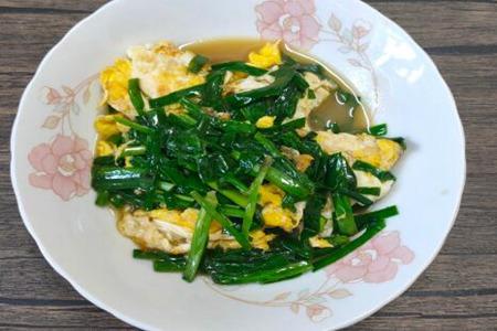 韭菜炒鸡蛋怎么炒好吃?