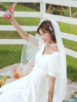 婚纱配什么发型好看 穿婚纱里面下身穿什么