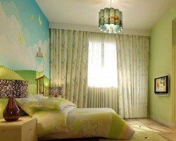 小儿童房装修设计 打造田园效果公主房(图)