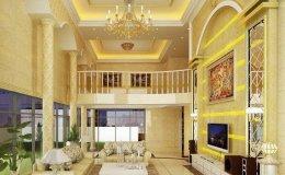 浪漫时尚并存的2021年欧式客厅装饰效果图
