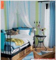 蓝色妖姬——十款蓝色调风格的卧室