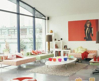 必看:震惊80后90后客厅装修美图