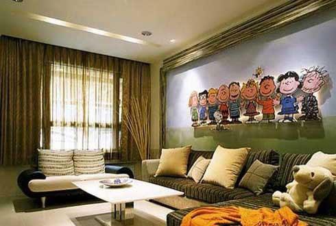 2021年最新家庭客厅时尚装修大P
