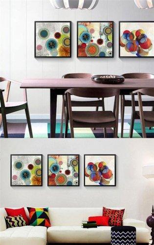 创意彩色装饰画带来个性生活体验