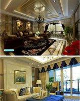 欧式客厅地毯图片 简约或奢华的选择