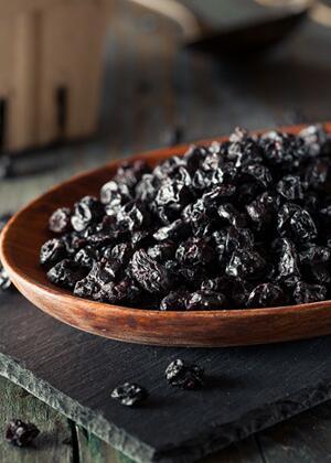 蓝莓干怎么吃 蓝莓干的功效