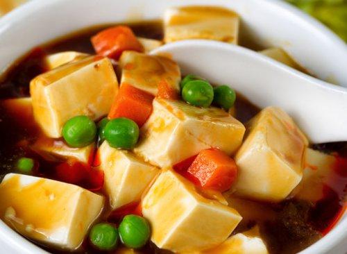 八宝豆腐羹