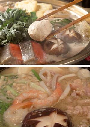 日本料理——力士火锅的做法