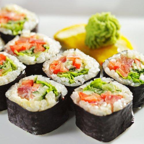 日本料理最清淡的寿司——紫菜寿司卷做法