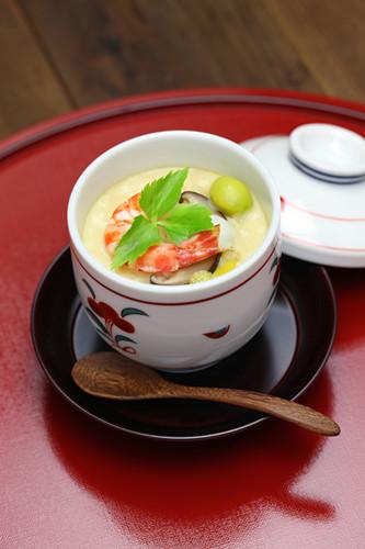 日本料理一品料理茶碗蒸的做法