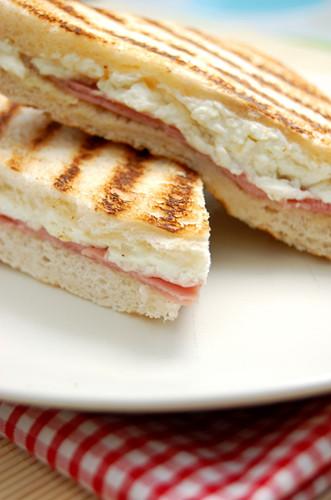 教你做美味西式早餐——火腿西多士