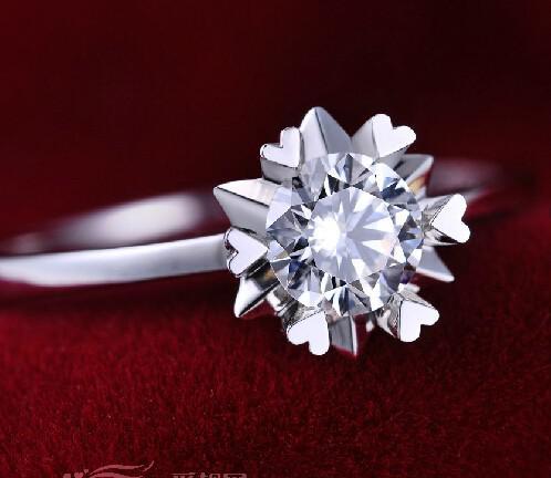 2021年新款女士结婚戒指图片