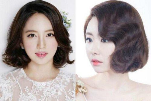 2021年韩国新娘妆造型图片