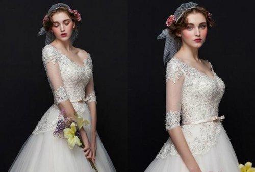 潮流百变的新娘妆整体造型欣赏
