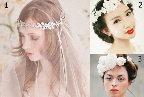 高贵典雅的欧式新娘妆造型图片