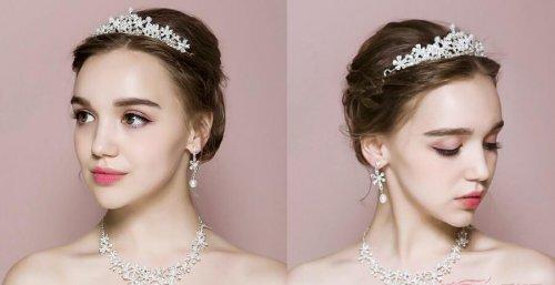 风格迥异的新娘妆造型都能让你成为最美新娘