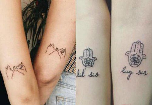 适合闺蜜的十款清新纹身图案大全