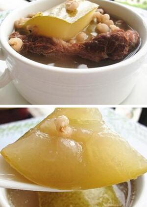 节瓜薏米煲猪骨营养丰富又祛湿气