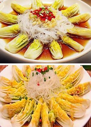 青菜也可以更美味——蒜蓉粉丝娃娃菜