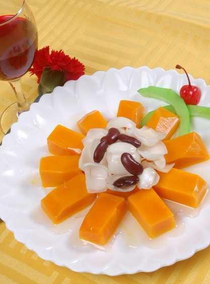 教你做素食者的营养菜——蒸南瓜的做法