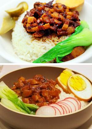 台式卤肉饭做法不去台湾也可品尝当地美食