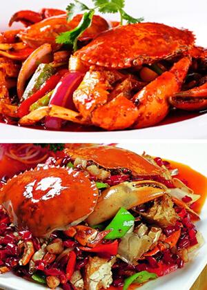 香辣蟹的做法轻松做美味川菜