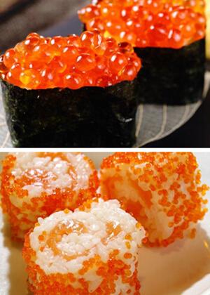 鱼籽寿司的做法分享 新手也成大厨师