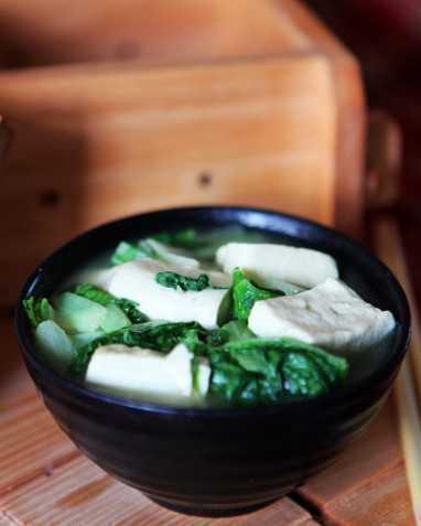 物美价廉的家常菜——白菜炖豆腐的做法