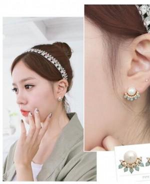 2021新款珍珠耳环让它装点耳间的美