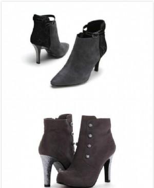 今年流行什么颜色、款式的靴子