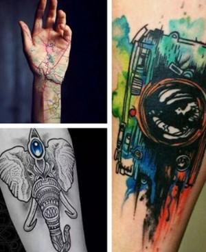 风格多样的男手臂纹身欣赏