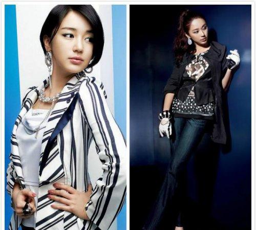 韩国明星减肥前后对比图及瘦身方法