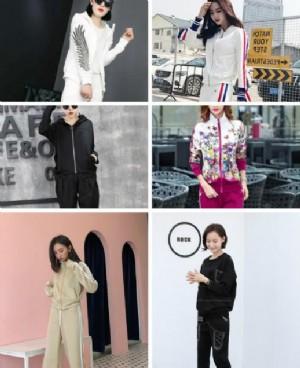春季新款韩版运动套装 逛街健身两不误