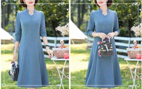 50岁女人穿什么颜色的衣服好?